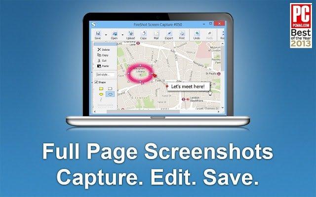 screenshot extension