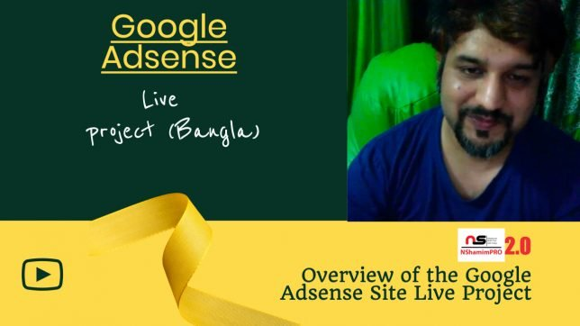 Google Adsense Live Project Bangla
